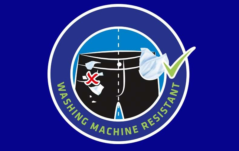 Wasmachinebestendig – ook in de box