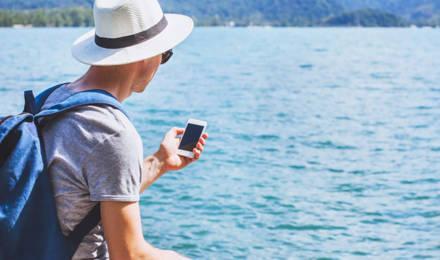 Mobiel In Water Gevallen Geen Paniek