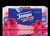 """Mouchoirs Tempo """"Féerie de roses"""""""