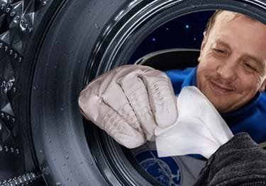 Waschmaschinenfest – auch in der Box.