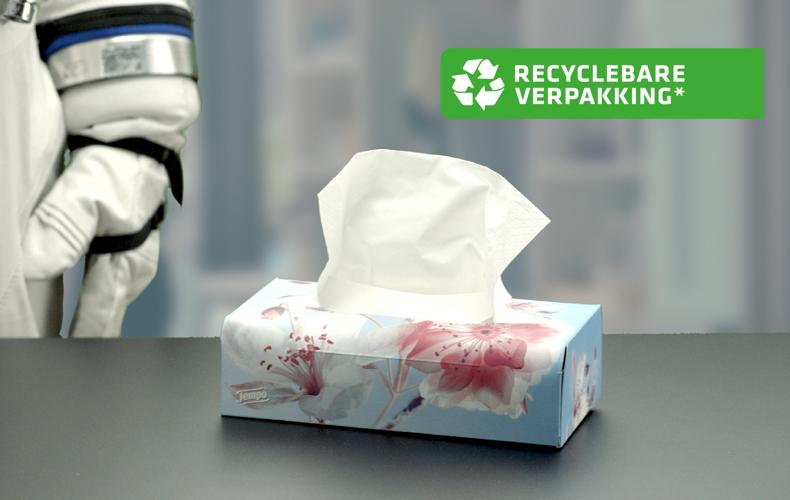 Nieuw – recyclebare Tempo box