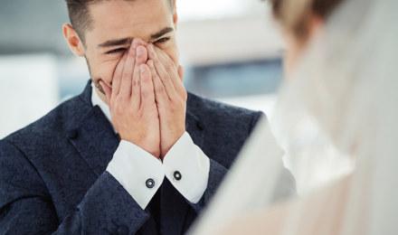 'For your happy tears' – Zakdoekjes voor een bruiloft