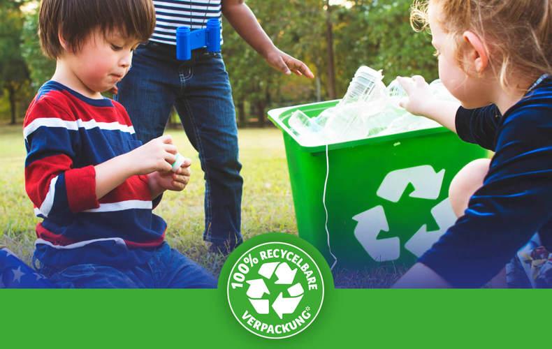 Nachhaltige Tempo WC Papier Verpackungen