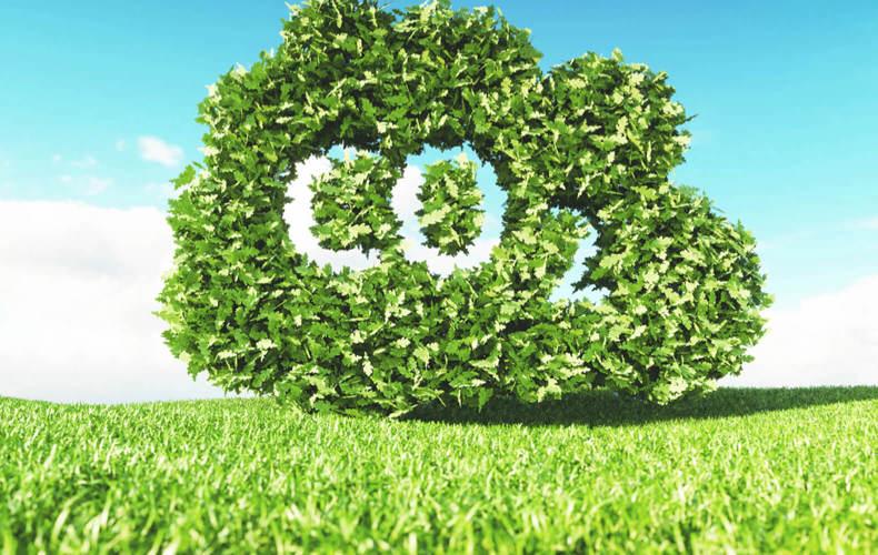 Minimierung des CO2-Fußabdrucks & des Wasserverbrauchs