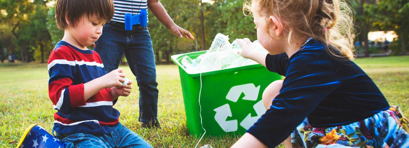 Wir reduzieren, erneuern oder recyceln unsere Verpackungen