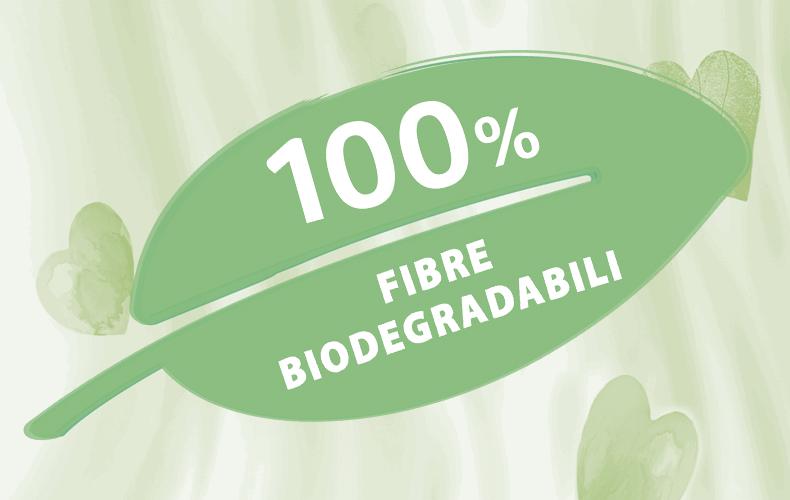 Fazzoletti 100% biodegradabili*