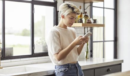 Troostende woorden per sms of app