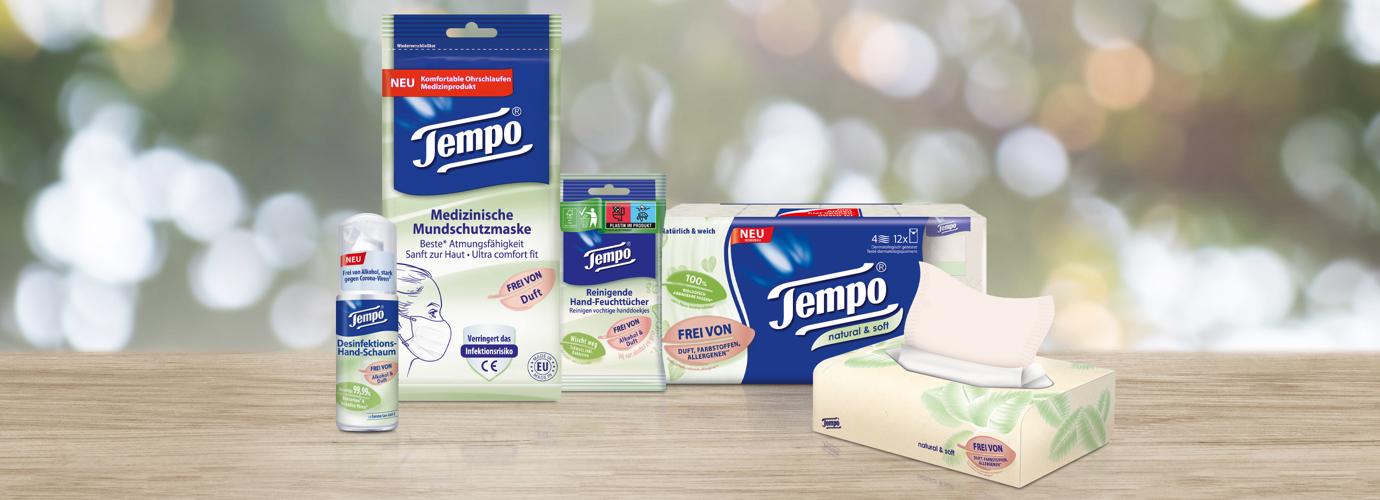 Leider ist das Gewinnspiel für das Tempo-Hygienepaket beendet.