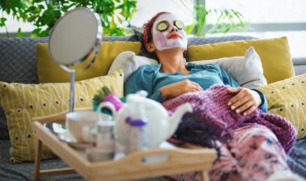 Wie man eine Gesichtsmaske selber machen kann