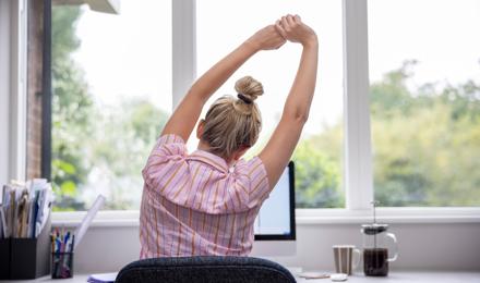 5 Übungen für zu Hause für eine gute Körperhaltung